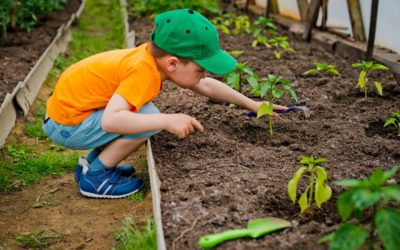 Join the kids garden group