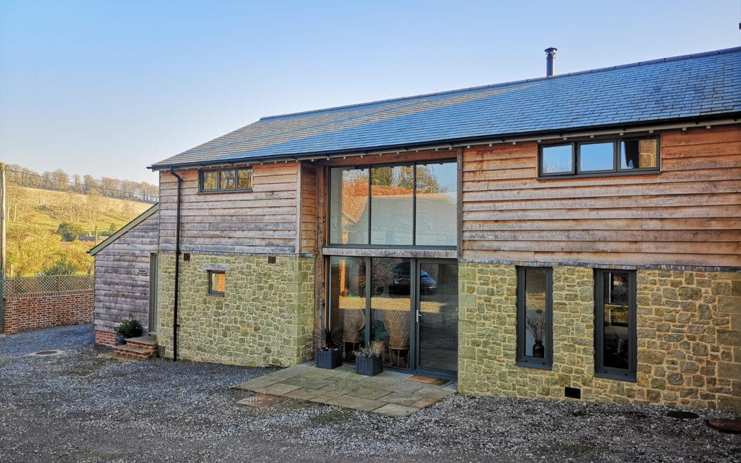 Superb barn conversion