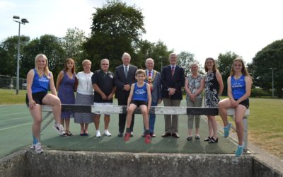 Athletes score with new track