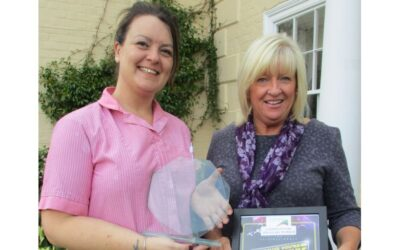 Care worker wins award