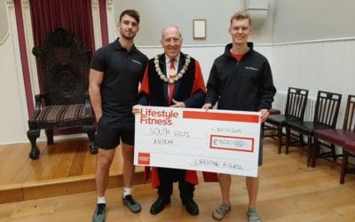 Fitness open day raises money for charities