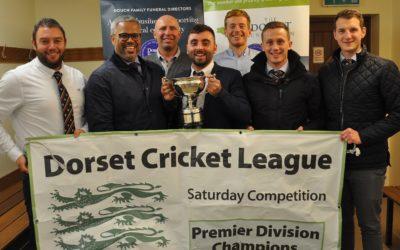 Cricket League presentation evening