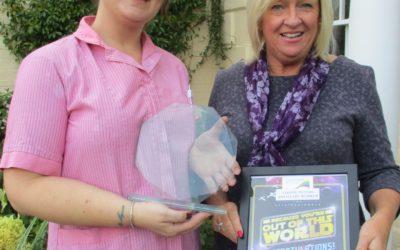 Care worker wins award