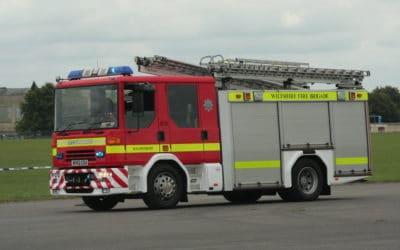 Fire in Shaftesbury terrace