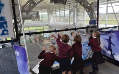 Pupils go on space trip