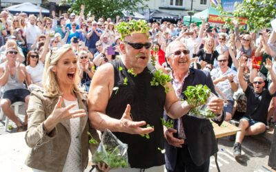 Could you be the World Watercress Eating Champion?