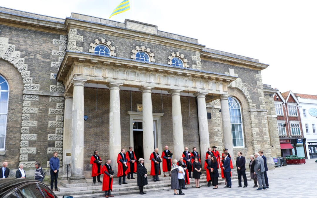 farewell at Salisbury Guildhall