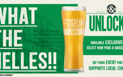 Brewer unlocks its lager