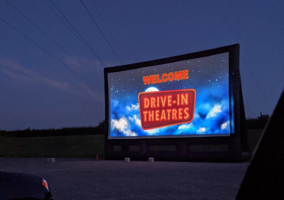 New Valley News visits Salisbury's drive-in cinema
