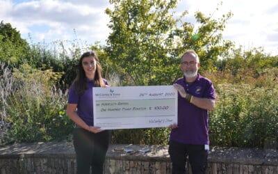 Salisbury charities given a boost