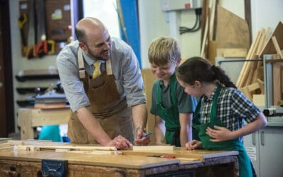 Resilience at Forres Sandle Manor school