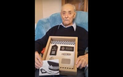 Special Constable celebrates 100th birthday