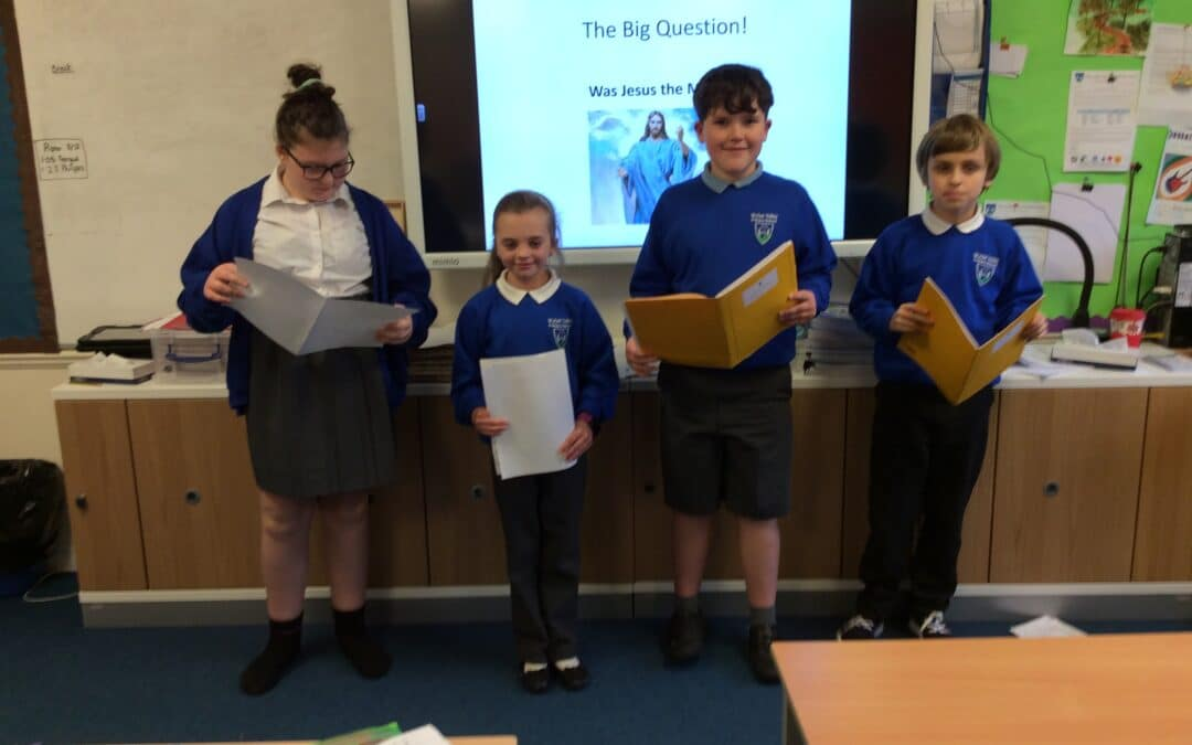 Pupils tackle The Big Question