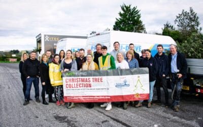 Christmas Tree Recycling Campaign back for 2021 raising funds for Salisbury Hospice