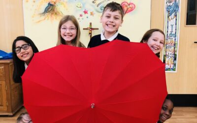 Pupils' video gives a little love