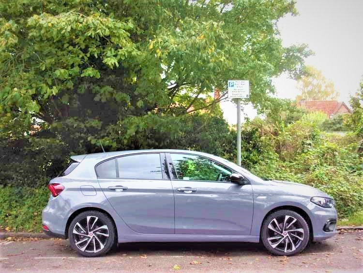Hold your own in the Fiat Tipo Sport