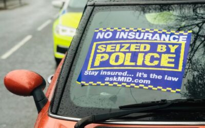 Vehicles seized in roads policing operation