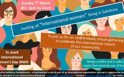 Soroptimists Mark International Women's Day