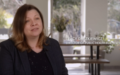 Tracy works to keep people safe