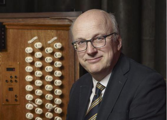 Free Lunchtime Organ Recital with David Halls