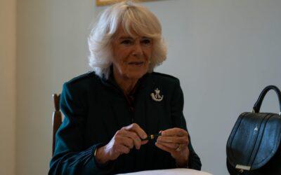 Duchess visits Bulford barracks