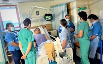 Cutting edge simulation training for hospital